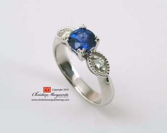 Vintage Engagement Ring Setting