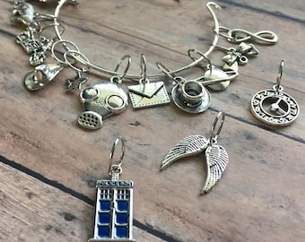 Stitch Marker Bracelet - Doctor Who