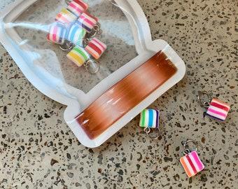 Ribbon Candy in a Mason Jar