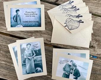 Vintage Sass Notecard Set