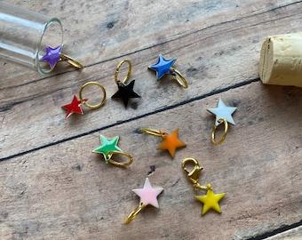Enamel Stars