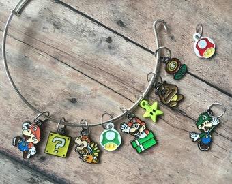 Stitch Marker Bracelet - Super Mario Bros