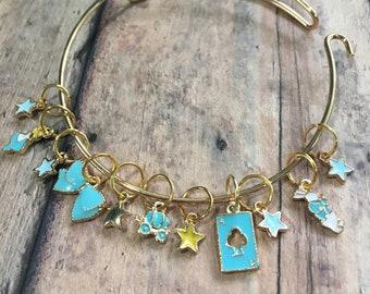 Stitch Marker Bracelet - Alice in Wonderland