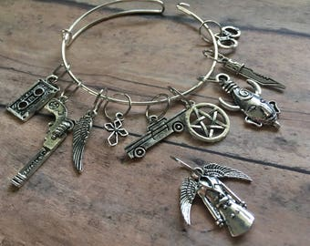Stitch Marker Bracelet - Supernatural
