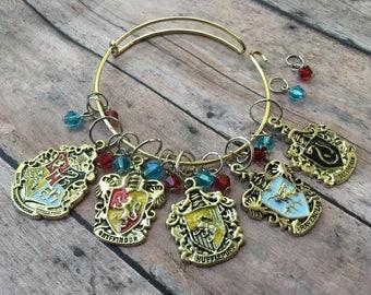 Stitch Marker Bracelet - Hogwarts Houses