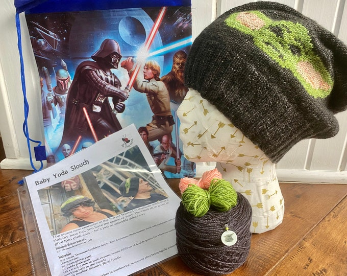 Featured listing image: Baby Yoda Hat Kit
