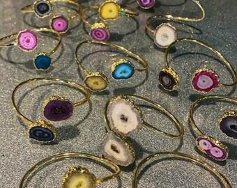 Druzy Quartz Bracelets