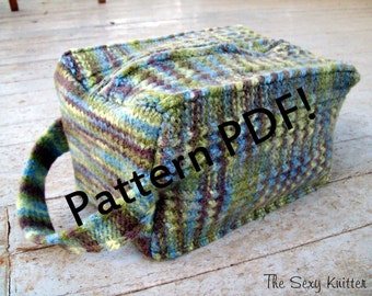 Cuboid Felted Box Bag