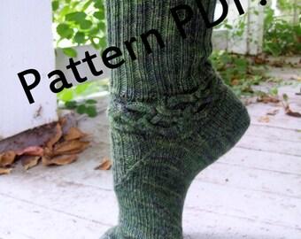 Elphaba's Revenge Socks