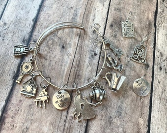 Stitch Marker Bracelet - Beauty and the Beast