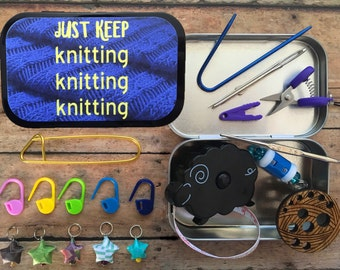 Just Keep Knitting Knitting Knitting
