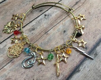 Stitch Marker Bracelet - Magical Charms