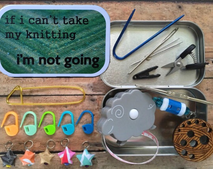 Featured listing image: If I Can't Take My Knitting, I'm Not Going