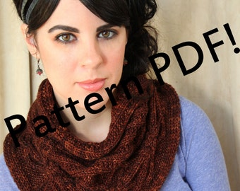Amerind Cabled Cowl