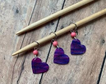 Handpainted Hearts