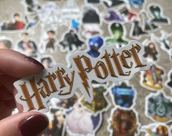 Harry Potter stickers - pack of 52
