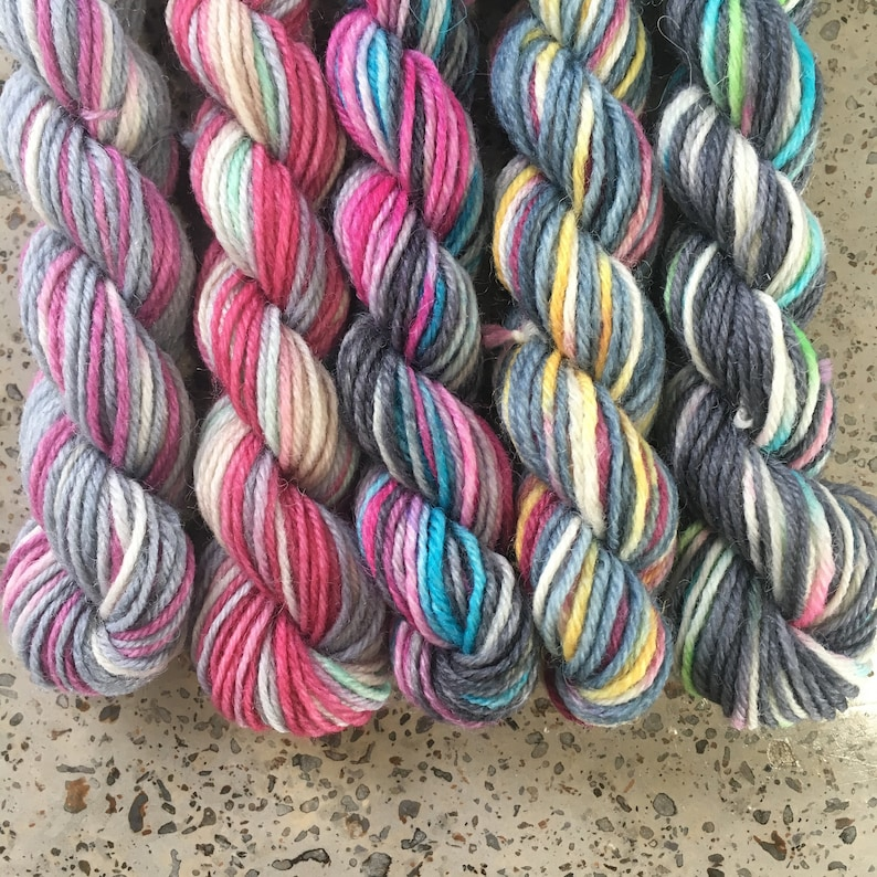 Magical Miniskeins Sock Yarn Mini Skeins for knitting  The image 0