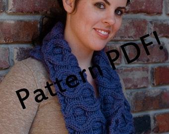 Roundabout Cabled Cowl