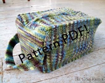 Cuboid Felted Box Bag