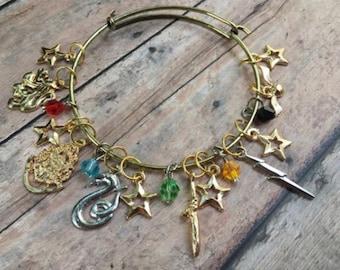 Stitch Marker Bracelet - Wizard School