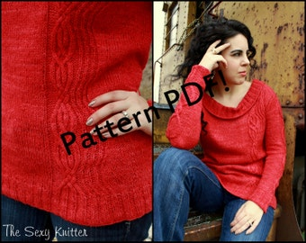 Pelotonner Cabled Sweater