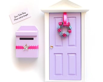 Tooth Fairy Door and Fairy Mail Box Gift Set Gift Idea for Tooth Fairy
