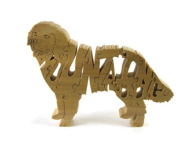 Mountain Dog Wood Puzzle