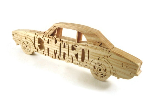1967 - 1970 Camaro RS Convertible Wood Scroll Saw Puzzle Handmade By KevsKrafts