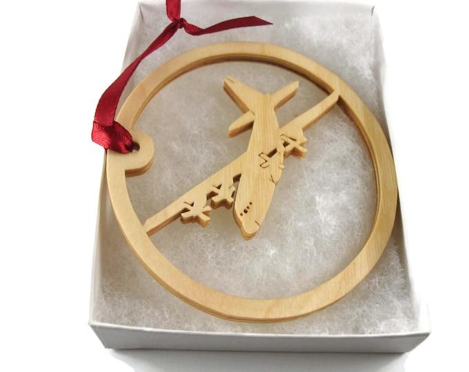 MC130H Combat Talon II Plane Christmas Ornament Handmade From Birch Wood By KevsKrafts BN-5-005