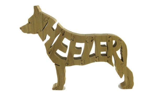 Heeler Cattle Dog Puzzle