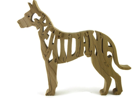 Great Dane Jigsaw Wood Puzzle