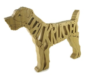 Jack Russell Dog Wood Puzzle Handmade By KevsKrafts