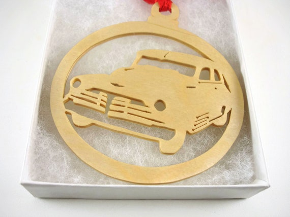 1947 Chevy Fleetmaster Christmas Ornament Handmade From Birch Wood By KevsKrafts BN-5-002