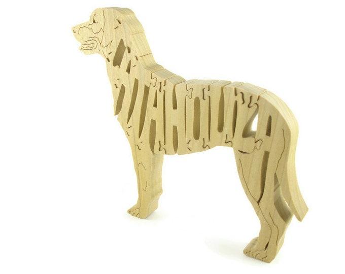 Catahoula Dog Puzzle Handmade From Poplar