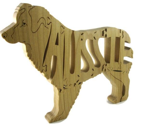 Aussie Wood Jigsaw Puzzle
