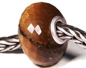 Gemstones by Anne Meiborg - Artisan europian charm bead -  small core - BHB - Tiger Eye - 10689