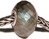 Gemstones by Anne Meiborg - Artisan europian charm bead -  small core - BHB - Labradorite - 11302