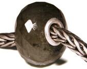 Gemstones by Anne Meiborg - Artisan europian charm bead -  small core - BHB - Labradorite - 11304