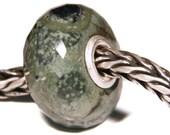 Gemstones by Anne Meiborg - Artisan europian charm bead -  small core - BHB - Jasper - 11206