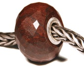 Gemstones by Anne Meiborg - Artisan europian charm bead -  small core - BHB - Jasper - 11268