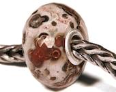 Gemstones by Anne Meiborg - Artisan europian charm bead -  small core - BHB - Jasper - 11281