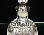 Vintage Waterford Crystal Lismore Perfume Bottle Dauber Acid Marked Nice Condition 18334 Fine Irish Glass