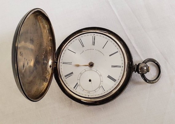 Joseph Johnson Liverpool Fusee Pocket Watch | Hall