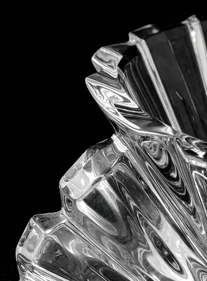 Tealight Votive Mid Century Modern Rosenthal Studio Line Crystal Germany ref 19633 Blossom Pattern