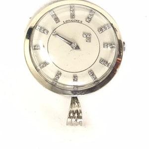 Seiko Quartz 3 Floating Dial 5.5 Brass Pillar Desk Table or Mantle Clock PN QXG702GC 152486