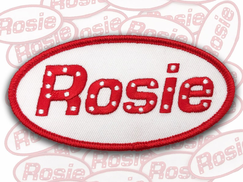 Rosie the Riveter Patch Rosie Name Patch Feminist Name image 0