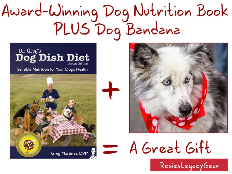 Gift for the Dog Lover in Your Family: DOG NUTRITION BOOK and image 0
