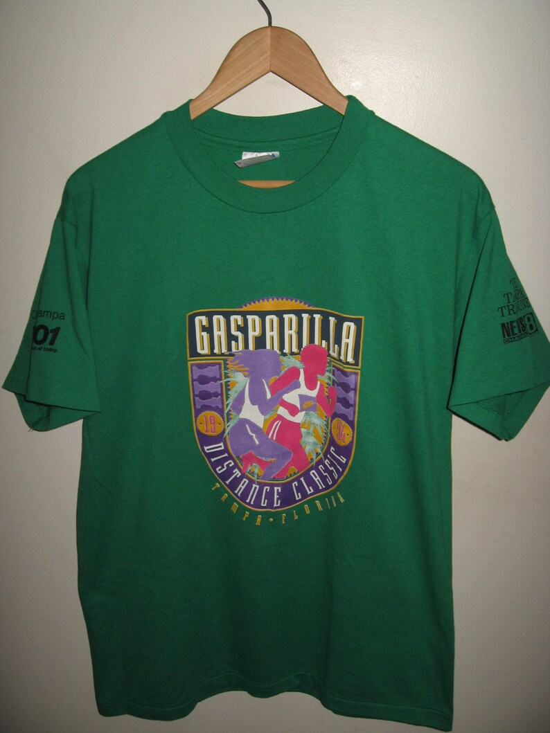Gasparilla Distance Classic Tee Vintage 1994 Tampa Florida  b2c16b9ec