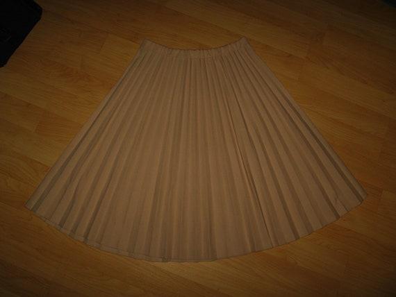 Vera Neumann Vintage Pleated Skirt - 1960's Mid Ce