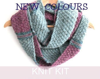 f8d22d9e8 Cowl Knitting kit